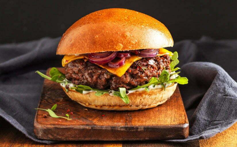 Burger brioché gourmand Biofournil